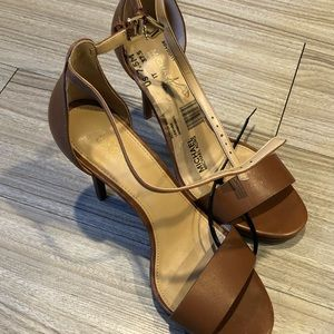 Michael Kors brown heel for women size 7.5